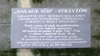 preview picture of video 'Schron kolejowy - train shelter,  Strzyżów, Poland'