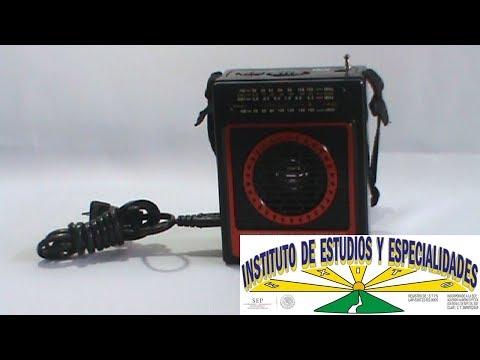 Radio Portátil AM/FM/SW con USB/Micro-SD  QFX  CS-87: CURSOS DE ELECTRÓNICA GRATIS