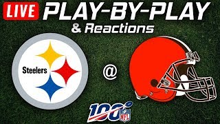 Steelers vs Browns|  Live Play-By-Play & Reactions