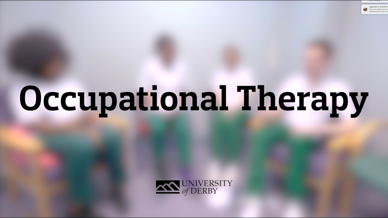 Lecturer Karen Newberry and student Rebekah Carter tell us about the heritage of Occupational Therapy at the University of Derby