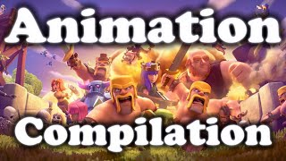 CLASH OF CLANS FULL MOVIE ANIMATION  HD 2016 SEPTEMBER