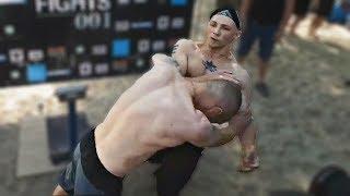 ДРАКА Мопса и Мартыненко перед БОЕМ в ринге