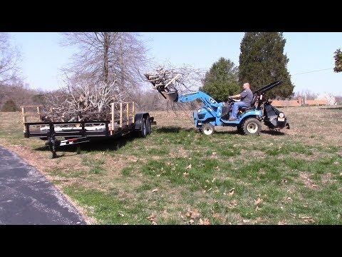 LS MT125 Tractor Mower Deck Modification - смотреть онлайн