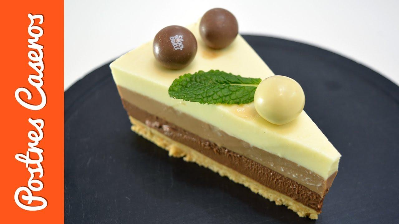 Tarta de 3 chocolates | Javier Romero