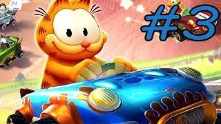 Garfield Kart   Furious Racing   Walkthrough   Part 3   Hamburger Cup (PC HD) [1080p60FPS]