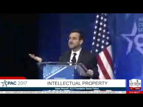 Adam Mossoff on Intellectual Property- CPAC 2017