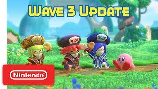Kirby Star Allies: Wave 3 Update - The Three Mage Sisters Work Their Magic! - Nintendo Switch