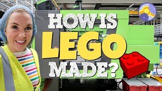 How is LEGO made? | Maddie Moate