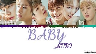 ASTRO – Baby Lyrics [Color Coded_Han_Rom_Eng]