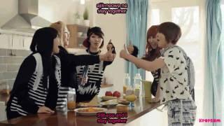 4 Minute - Heart to Heart MV Eng Sub & Romanization Lyrics