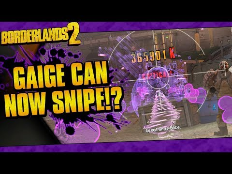 Borderlands 2 | Gaige Can Now Snipe With Anarchy!? (Hot Mama Sniper's Hidden Ability)
