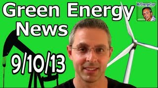 Green Energy News Electric Car Sales Record, Texas Fracking Decline, Radioactive Tuna.