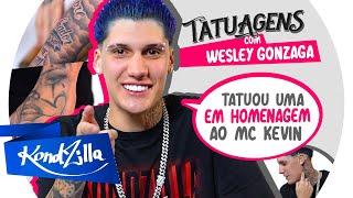 Tatuagens com Wesley Gonzaga – VAI TATUAR O ROSTO?