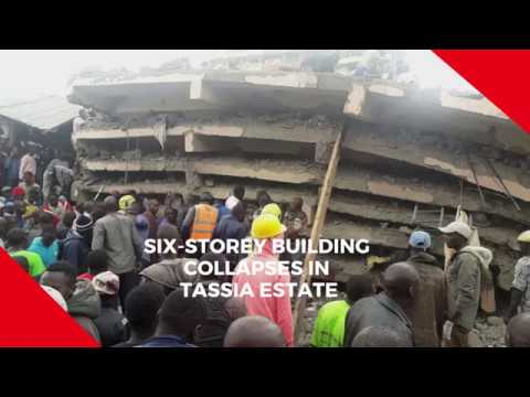 Scores feared trapped as six-storey building collapses in Tassia Estate