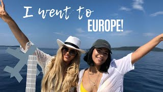 I WENT TO EUROPEEE | VLOG