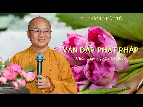 Vấn đáp Phật Pháp 05-04-2020
