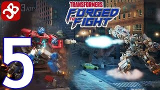 TRANSFORMERS: Forged to Fight - Gameplay Walkthrough Part 5 - ACT 1: Chapter 3