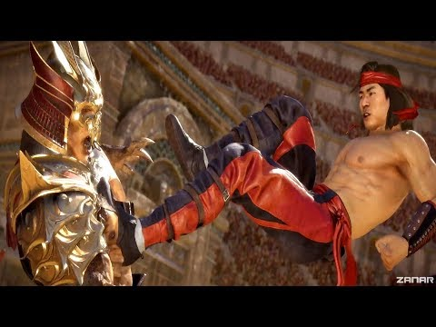 MORTAL KOMBAT 11 - Liu Kang Saves Kotal Kahn From Shao Kahn (MK11 2019) PS4 Pro