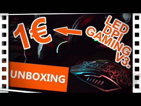 [Unboxing] Was?! Noch eine 1€ Gaming Maus! + Vergleich von 1€ Maus 1- 3