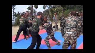 Nepal Army Ranger Hand-Combat Training November 2012 Official