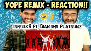 YO PE REMIX   REACTION VIDEO!! | Innoss'B | Diamond Platnumz | Official Music Video