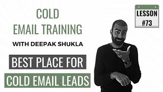 The Best Place To Find Cold Email Leads