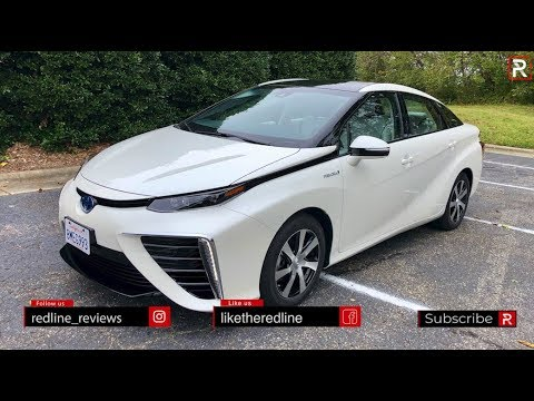 The 2019 Mirai Fuel Cell is Toyota's Answer to Battery Electric Cars