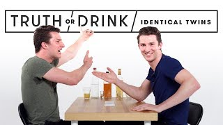Identical Twins Play Truth or Drink | Truth or Drink | Cut