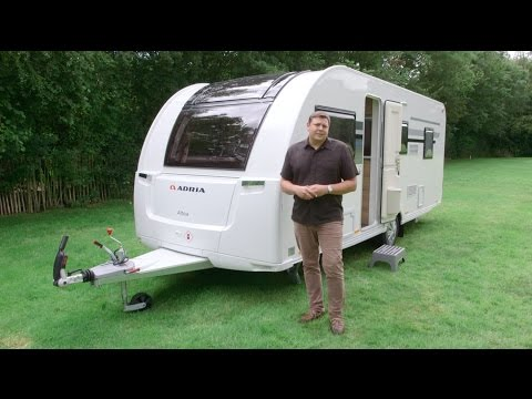 The Practical Caravan Adria Altea 552DT Tamar review