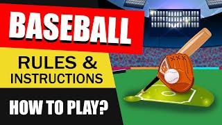 Baseball Rules : How to Play Baseball : Rules of Baseball Game