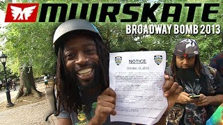 Broadway Bomb 2013 Trailer | Muirskate Longboard Shop