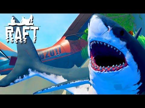 Raft COOP Gameplay German #23 - Wir habe ein Flugzeug gefunden