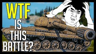 ► When YOUR TEAM Wants To Lose! - World of Tanks 50TP Tyszkiewicza Gameplay
