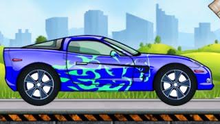 мультики про машинки - Раскраска и Мойка машины, развивающий мультик для детей