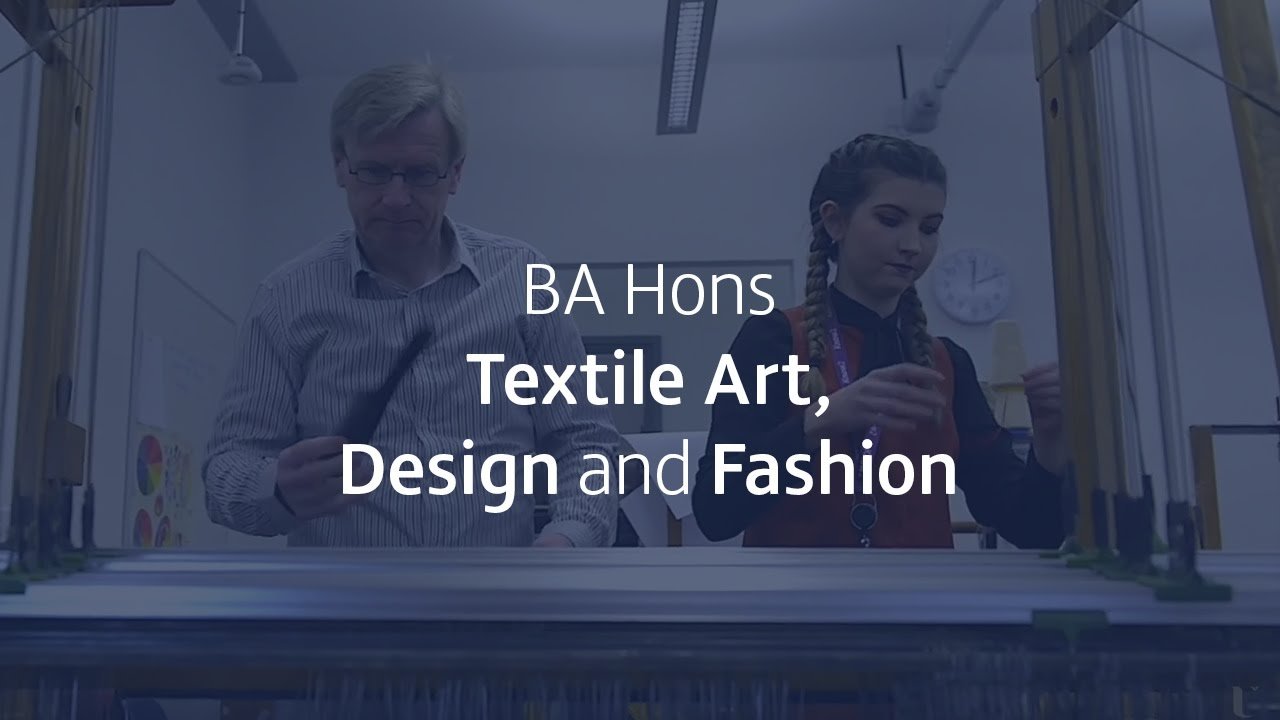 BA Hons Textile Art, Design and Fashion