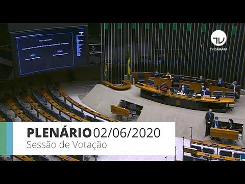 Plenário - Câmara aprova prioridade a mulher chefe de família no auxílio emergencial -02/06/20-15:22