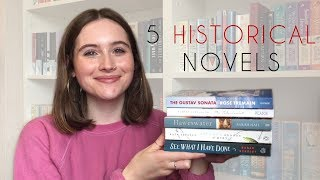 Historical Fiction   5 Book Recommendations