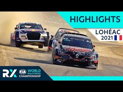 世界ラリークロス フランス( エアロック)2021年 RXクラスの予選ハイライト動画