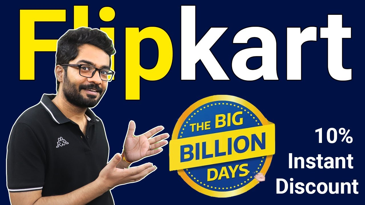 Flipkart huge billion day 2021|10% Instantaneous Discount Rate Axis and ICICI Debit/Credit card deal thumbnail