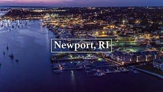 Newport, RI by Drone in 4K