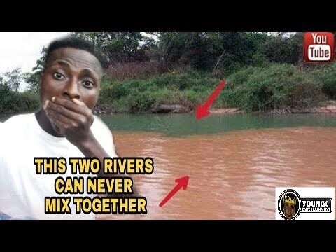Two Rivers That Can NEVER! Mix Together 😱😵