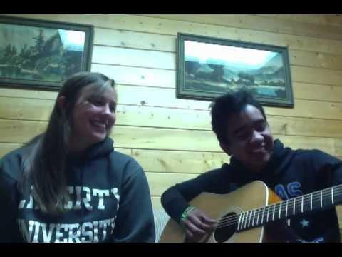 Lucky by Jason Mraz and Colbie Cailett covered by Skylar Gordon and Kelly Hamilton