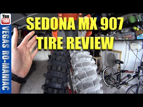 Sedona mx 907 Tire Review Zero Miles to BALD  Best Offroad Motorcycle Tire REVIEW