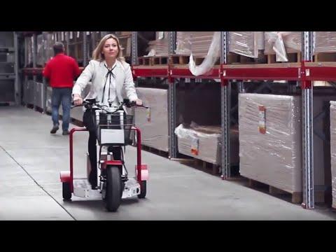 Elektro Scooter für Airports, Betriebsgelände oder öffentliche Straßen | Euro Scooter II