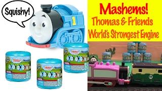 Thomas & Friends Mashems - World's Strongest Engine Toy Train Fun