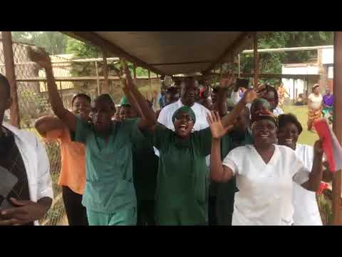 Celebracion del premio Nobel de la Paz al doctor Mukwege