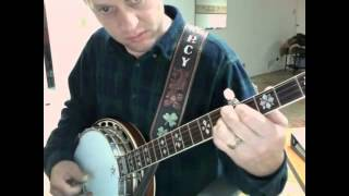How to play the banjo part on Take it Easy banjo (in a general sense)