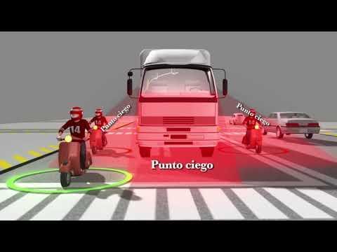 Conoce y evita los puntos ciegos cuando vas en moto