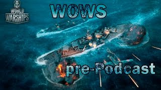 pre-Podcast World of Warships / 60FPS CRAFT / GustikPS