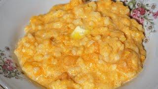 КАША  рисовая с тыквой на молоке точный рецепт